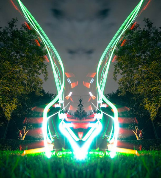 drone-light-painting