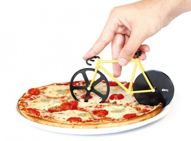 vélo coupe-pizza